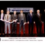 - PREMIOS KONEX 2003 CIENCIA Y TECNOLOGIA