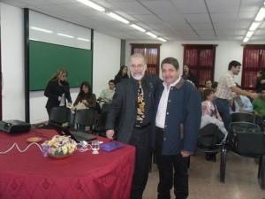 Visita del Dr. Héctor Abruña 2010