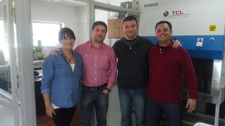 Rubilar Totellia, Franco y Martin Laboratorio  Center of Enviromental Biotechnology (BIOREN- UFRO)